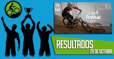 RESULTADOS: Campeonato Copa Downhill (29-10-2017)