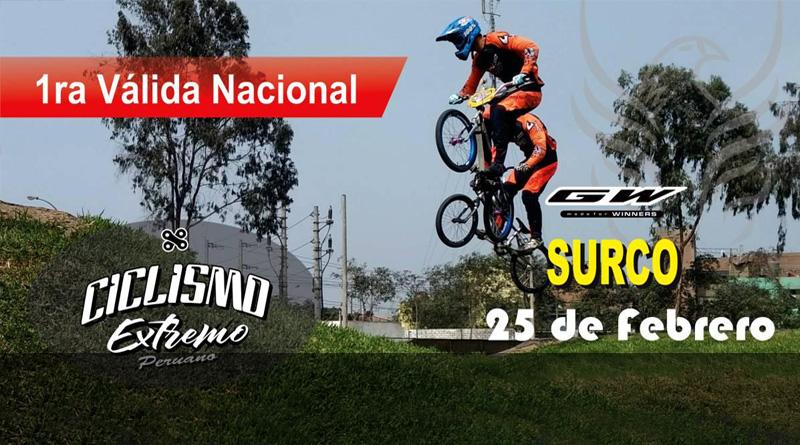 1a Valida Nacional – Competencia Ciclismo Extremo Peruano (25 Febrero)