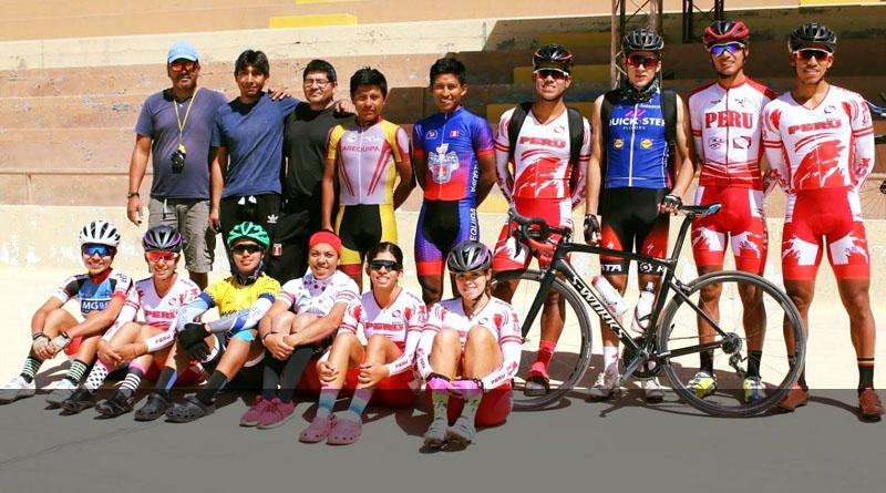 Primer control de tiempo a la Selección y Pre Selección en el Velodromo de Cerro Juli de Arequipa