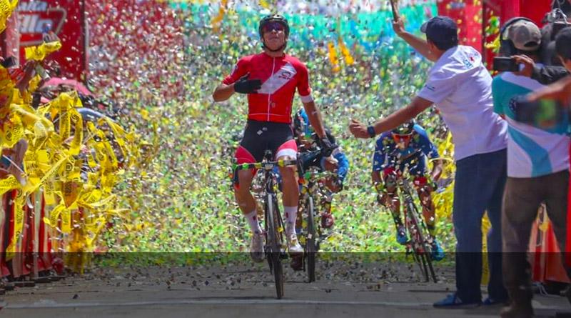 Alonso Gamero otra vez ganador, ahora de la Etapa 9 de la Vuelta a Guatemala
