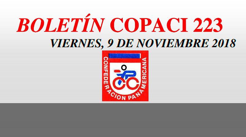COPACI informa sobre el Campeonato Nacional de Pista que se desarrollará en Arequipa el 10 y 11 de noviembre del 2018