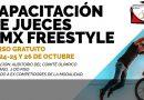 Capacitación – Entrenadores BMX Free Style 23 al 26 de Octubre