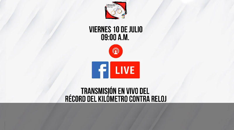 Récord del Kilómetro Contra Reloj en Rodillo (EN VIVO)